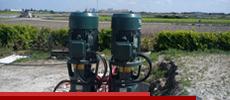 Irrigation moteur électrique